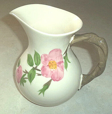 Franciscan Desert Rose Milk Jug Pitcher 1 1/2 Pt Made in England Hand Decorated