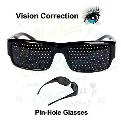 Vision Correction Eyesight Improvement Care Exercise Eyewear Pinhole Glasses
