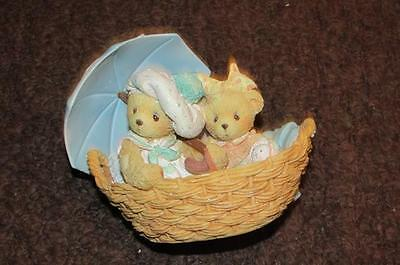 950564 Cherished Teddies Beth & Blossom Friends Are Never Far Apart