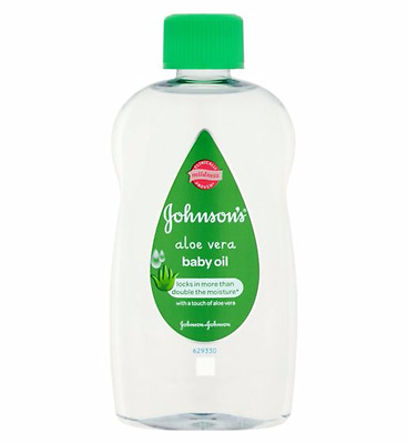 JOHNSON'S® Aloe Vera Baby Oil 300ml