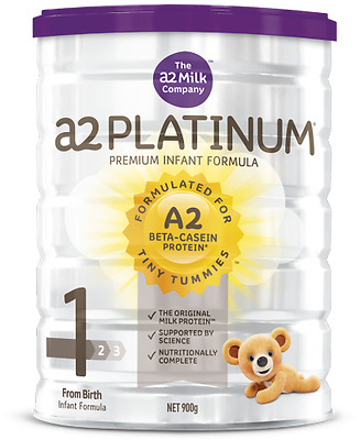 a2 Platinum Premium Infant Formula Stage 1 900grams From Birth  x 4 Tins