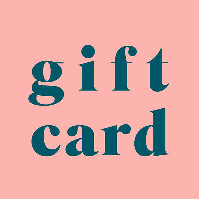NEW Gift Card sage and clare