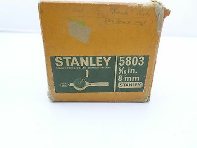 Vintage Stanley Hand Drill No 5803 in box  VGC   T28