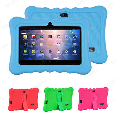 "7"" Quad Core Tablet for Kids Google Android 4.4 8GB Dual Camera Children XGODY"
