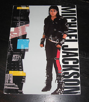 Michael Jackson BAD World Tour 1988 program book PEPSI photos