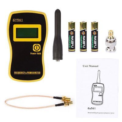 GY561 Frequency Counter Handheld Tester & Power Meter for Two-Way Ham Radio O4J8