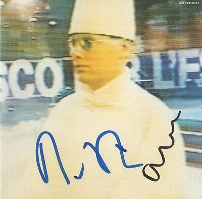 "Pet Shop Boys Autogramme signed CD Booklet ""Disco"""