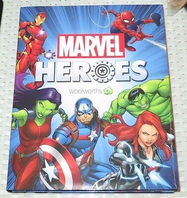 Woolworths MARVEL: Heroes - Collector's Album - NEW - Woolies Cards - ede