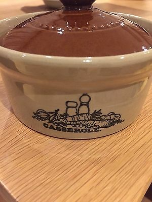 Pearson's Of Chesterfield 1/2 Pint Casserole Dish with Lid