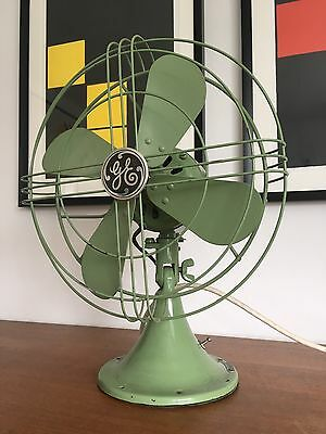 GE Vintage Art Deco Electric Fan