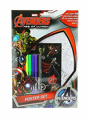 Avengers Age of Ultron Poster Set