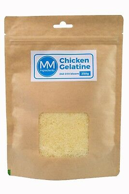 Chicken Gelatine/Gelatin Powder 250G (280-310 Bloom)