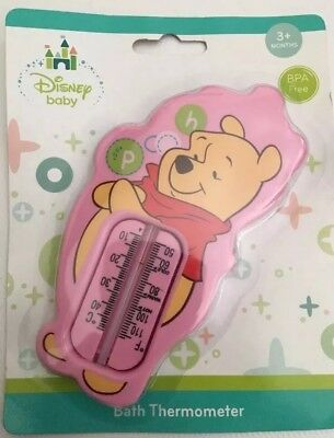 New Disney Winnie The Pooh White Baby Bath Safety Thermometer