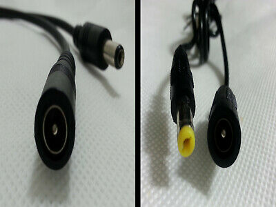 5.5 mm x 2.1 mm dc cable 0.5m 1.2m 2m switch on  extension power lead male plug
