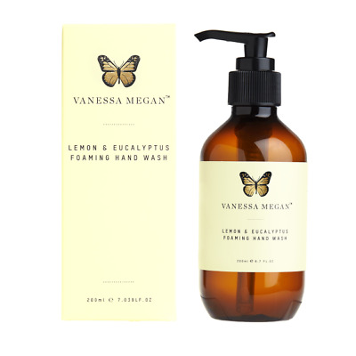Vanessa Megan Nautural & Organic Lemon and Eucalyptus Foaming Hand Wash