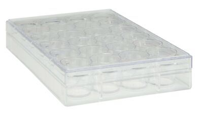 New TrueLine Clear Polystyrene Sterile 24 Well Cell Culture Plate (Case of 50)