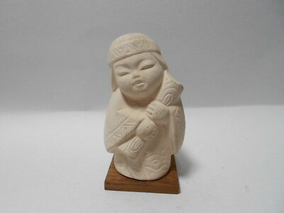 Japanese Vintage Ornament Doll Ainuu Ethnic Group