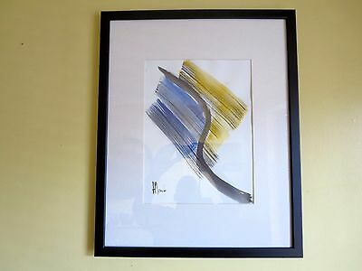 Original new Modern Contemporary Abstract Acrylic ink on paper