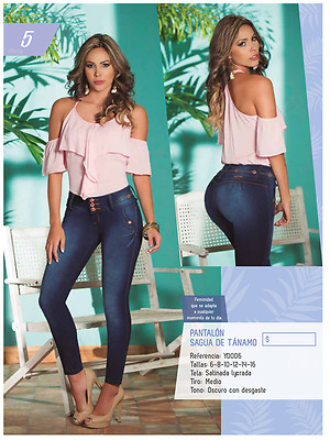 Jean Levanta Cola JEANS COLOMBIANOS SC15 Authentic Colombian Push Up Jeans