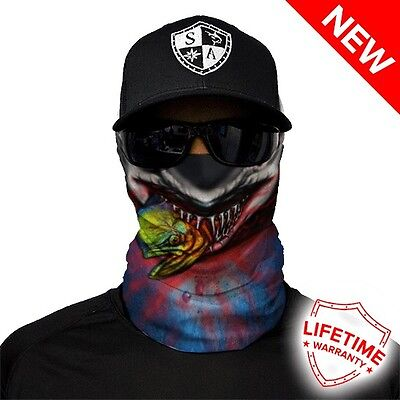 Biker Half Face Mask - Tax Collector Design - Premium Quality