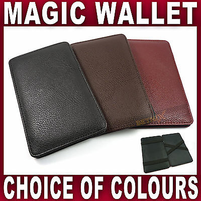 PU Leather Magic Wallet Milkman Taxi Trader Money Bus Smart Puzzle Driver
