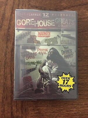 The Gorehouse Greats Collection (DVD, 2009, 3-Disc Set) Brand New Sealed