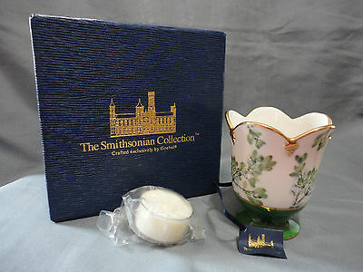 The Smithsonian Collection by Goebel Mistletoe Tealight Votive Candle Holder