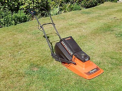 flymo hoverstripe rotary hover electric lawn mower grass. Black Bedroom Furniture Sets. Home Design Ideas