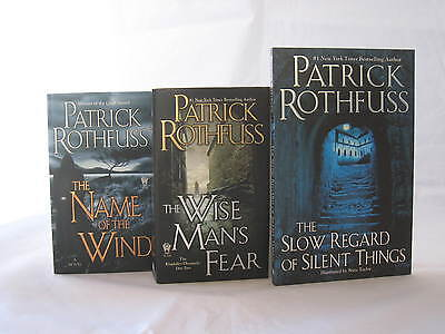 The Kingkiller Chronicle #1-3: Books by Patrick Rothfuss (Mass Market Paperback)