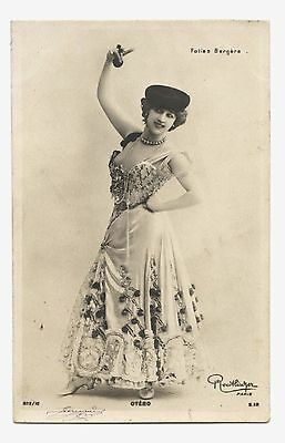 LA BELLE OTERO AUX FOLIES BERGèRE PARIS.DANSEUSE.COURTISANE DE LA BELLE éPOQUE