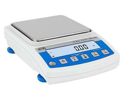 Radwag WTC2000 Precision Lab Balance,Compact Scale 2000 g x 0.01 g (10 mg) NEW