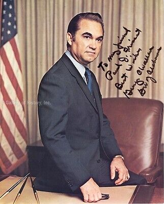 George C. Wallace - Inscribed Photograph Signed