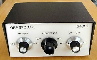 QRP TX SPC Antenna Tuning Unit. Made in Dorset, UK.