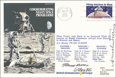Hermann Oberth - First Day Cover Signed Co-Signed By: Anselm Franz