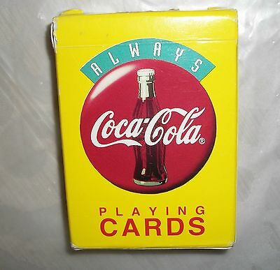 1994 Deck Of Coca Cola Playing Cards