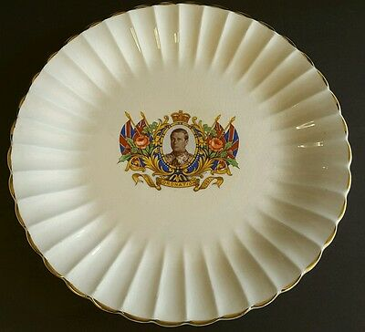 """1937 Coronation Of King George Vi Commerative Plate  10"""""""