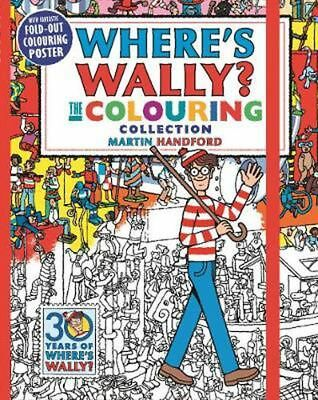 Where's Wally? The Colouring Collection by Martin Handford Paperback Book