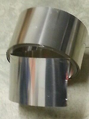 316 stainless steel shim stock 4.528 wide X 0.006 thick, 6 inch long 006 .006