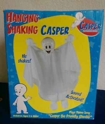 Rare HANGING SHAKING Big CASPER the Friendly Ghost Halloween 1998 in box