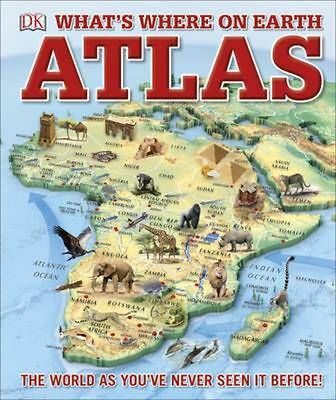 What's Where on Earth? Atlas: The World as You've Never Seen It Before! by Dk Ha