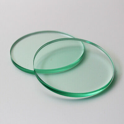 40mm Dia Disc / Glass Look Effect Plastic Circles / Laser Cut Acrylic Disc / 5mm