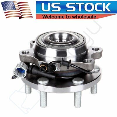 Brand Front New Wheel Hub And Bearing Assembly For Frontier 6 Lug 4WD w/ ABS