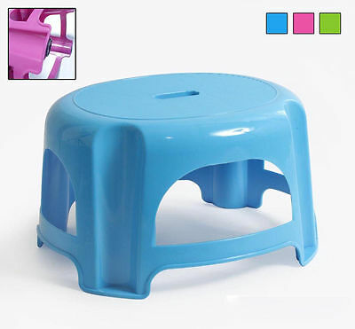 Children Plastic Stool Step 29x25x18.5 in different COLOURS