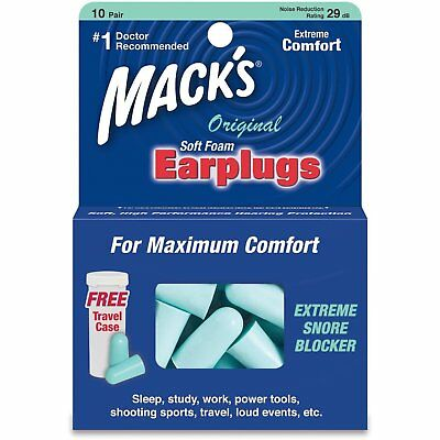 Macks Safesound earplugs
