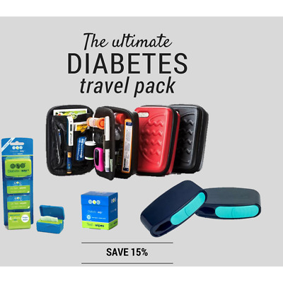 The Ultimate Diabetes Travel Pack Pocket Container for Diabetes Pen Needles