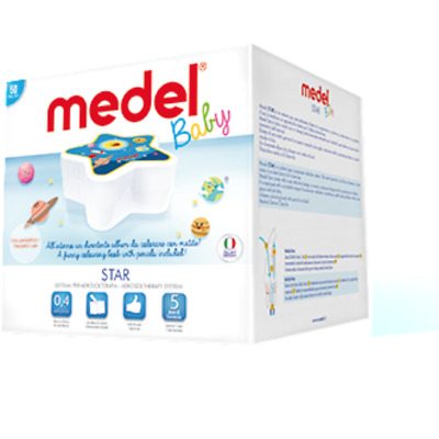Medel STAR Nebulizer - Asthma - Vapour - Inhaler - Breathing Mask - Breathing...