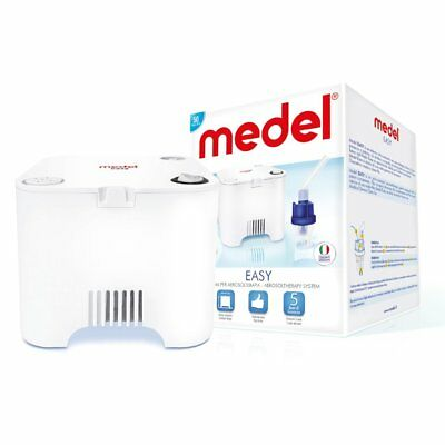 Medel EASY Nebuliser -  Asthma - Vapour - Inhaler - Breathing Mask - Breathin...