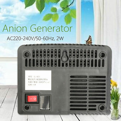 Intelligent Air Purifier Anion Ozone Generator Ionizer Airborne Negative Ion
