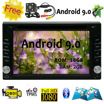 """Android 8.1 6.2"""" 2Din InDash Car DVD Radio Stereo Player BT WiFi 3G GPS+CAMERA"""