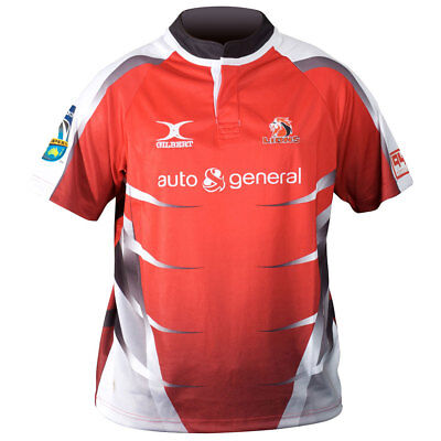GILBERT Lions Home SupeRugby Rugby Shirt [red]